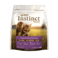 Nature's Variety Instinct Rabbit Meal Formula for Cats, 2.2 lbs.