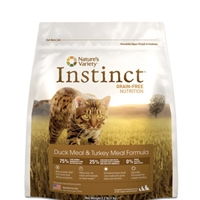 Nature's Variety Instinct Duck Cat, 4/5.5 Lb