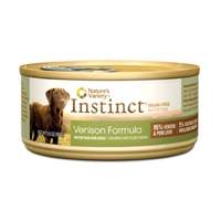 Nature's Variety Instinct Can Dog Venison 12/5.5 oz