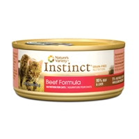 Nature's Variety Instinct Can Cat Beef 12/5.5 oz
