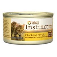 Nature's Variety Instinct Can Cat Chicken Formula 24/3 oz.