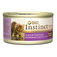 Nature's Variety Instinct Can Cat Rabbit Formula 24/3 oz.