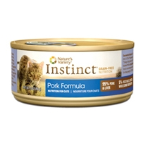 Nature's Variety Instinct Cat Can - Pork Formula