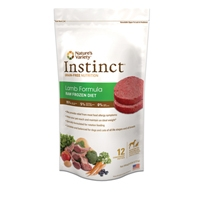 Instinct Grain Free Raw Frozen Lamb Patties for Dogs