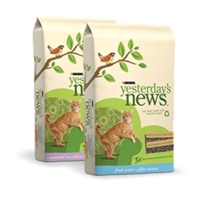 Yesterday's News Softer Texture Fresh Scent Cat Litter 13.2 lb.