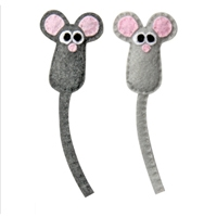 Petstages Catnip Felt Mini Mice
