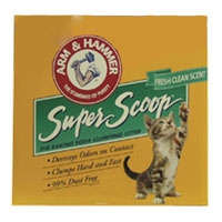 Arm & Hammer Superscoop Clumping Scented Litter  3/14 lb.