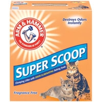 Arm & Hammer Superscoop Clumping Unscented Litter  28 lb.