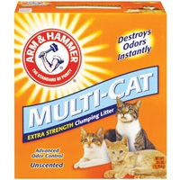 Arm & Hammer Multi Cat Clumping Unscented Litter 28 lb.