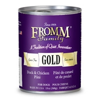 Fromm Gold Dog Duck/Chicken Pate 12/13 oz