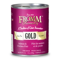 Fromm Gold Dog Salmon/Chicken Pate 12/13 oz