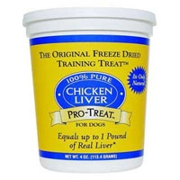 Gimborn Freeze Dried Chicken Liver 3 oz.