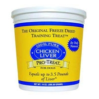 Gimborn Freeze Dried Chicken Liver 11.5 oz.