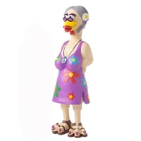 Charming Pet Grandma Hippie Chick Large