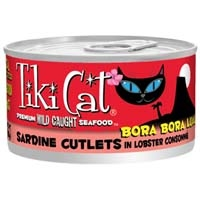 Tiki Cat® Bora Bora Sardine Canned Cat Food, 2.8 oz