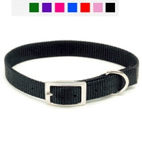 "Coastal Style 401 5/8"" x 14"" Nylon Web Collar Red"