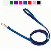 "Coastal Style 406 5/8"" x 6' Nylon Web Training Lead Blue"