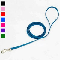 "Coastal Style 306 3/8"" x 6' Nylon Web Training Lead Black"
