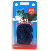 Coastal Style 130 Cat Lead & Harness Black