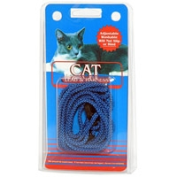 Coastal Style 130 Cat Lead & Harness Blue