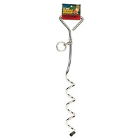 "Coastal 8 mm 17"" Spiral Tie Out Stake"