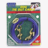 Coastal 10' Medium Tie Out Cable Up to 50 lbs.