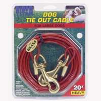 Coastal 20' Heavy Tie Out Cable Up to 80 lbs.