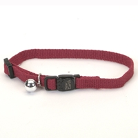 "Coastal Style 14701 3/8"" Cat Soy Collar Cranberry"