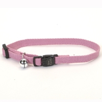 "Coastal Style 14701 3/8"" Cat Soy Collar Rose"