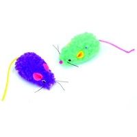 Coastal Wooly Mouse 2pk Cat Toys