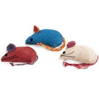 Ethical Burlap Mice