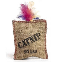 Ethical Jute & Feather Sack