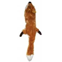 "Ethical Ethical Skinneeez Plush Fox 20"" For Small/Medium Dogs"