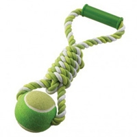 Ethical Ethical Mega Twister Ball Tug Dog Toy 17""