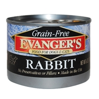 Evanger's 100% Rabbit Dog, 6 Oz