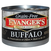 Evanger's 100% Buffalo Dog/Cat, 24/6 Oz