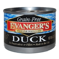 Evanger's 100% Duck Dog/Cat, 24/6 Oz