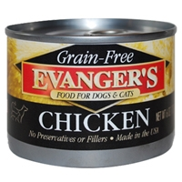 Evanger's 100% Chicken Dog, 24/6 Oz