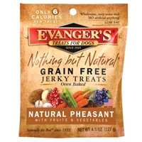 Evanger's Pheasant/Fruit/Vegetable Jerky 4.5 oz