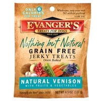 Evanger's Venison/Fruit/Vegetable Jerky 4.5 oz
