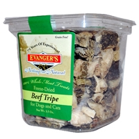 Evanger's Beef Tripe Treat Dog/Cat, 3.5 Oz