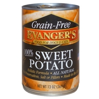 Evanger's Grain-Free Sweet Potato for Dogs & Cats Treat/Supplement, 13 Oz