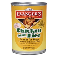 Evanger's Heritage Classic Chicken & Rice Dinner Dog Food