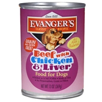 Evanger's Heritage Classic Beef With Chicken & Liver