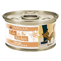 Cats in the Kitchen Fowl Ball Chicken and Turkey Recipe Au Jus