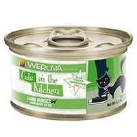Cats in the Kitchen Lamb Recipe Au Jus Lamb Burger-ini Canned Cat Food, 3.2 oz.