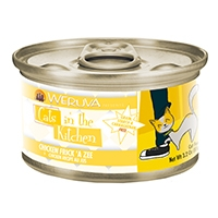 Cats in the Kitchen Chicken Recipe Au Jus Chicken Frick 'A Zee Canned Cat Food, 3.2 oz.