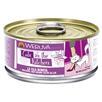 Weruva Mackerel & Shrimp Recipe Au Jus  6.0 oz. Cans La Isla Bonita