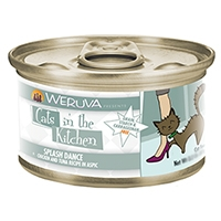 Cats in the Kitchen Chicken & Tuna Recipe in Pumpkin Consomme Funk in the Trunk Canned Cat Food, 3.2 oz.