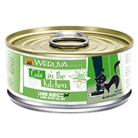 Weruva Lamb Recipe Au Jus 6.0 oz. Cans Lamb Burger-ini